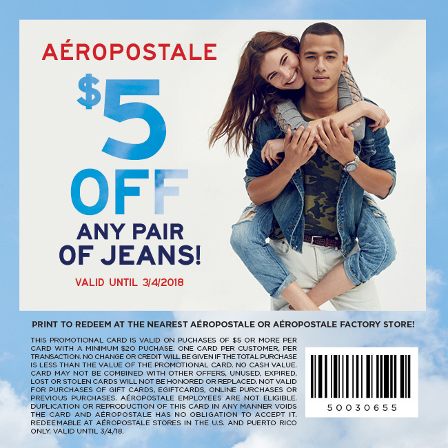 20 off aeropostale coupon codes amp printable coupons 2019 - 650×650